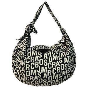 Marc by Marc Jacobs Printed  Black/White Hobo Bag